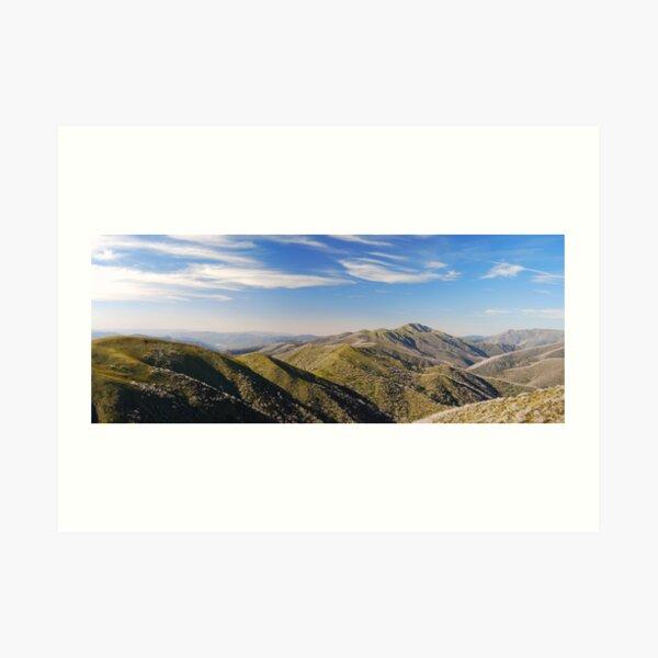 Mt Feathertop, Alpine National Park - Australia Art Print