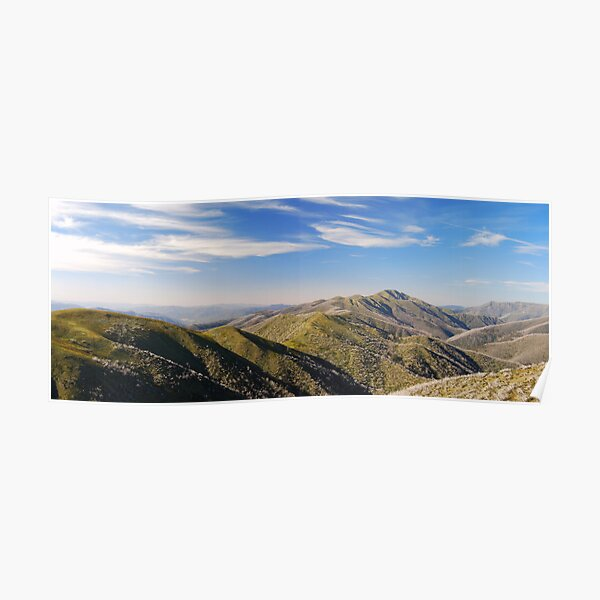 Mt Feathertop, Alpine National Park - Australia Poster