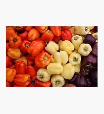 Capsicum Photographic Print