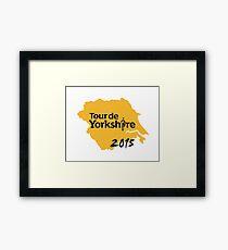 Tour de Yorkshire 2015 Framed Print