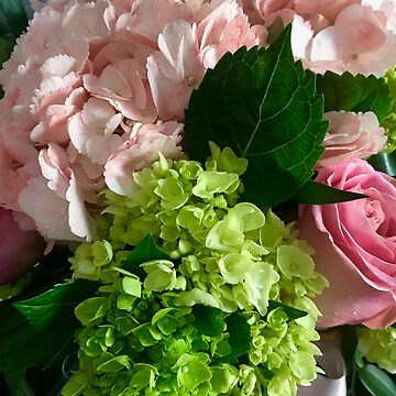 Hydrangeas and Roses by ephotocard