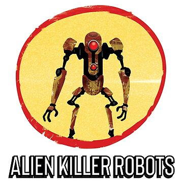 Alien Killer Robots by mattskilton