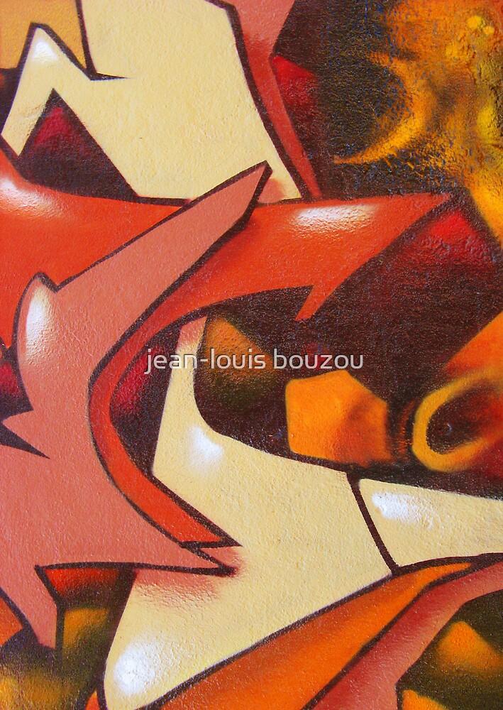 Graffiti Card by jean-louis bouzou