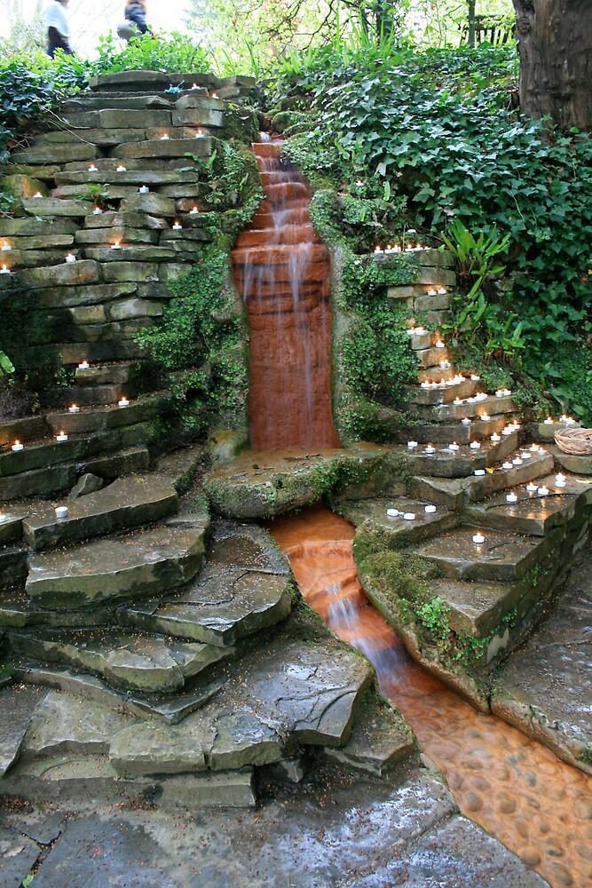 Chalice Well peace garden by Amanda Gazidis