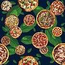 Pizza Polka Dot Supreme by theminx1