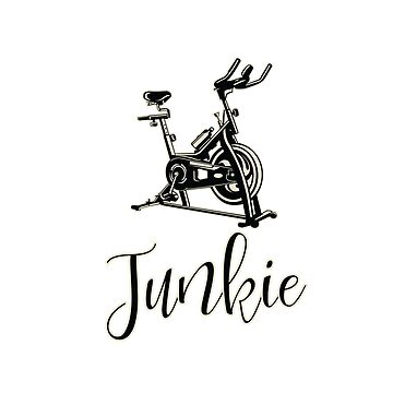 Spin Class Funny Design - Spin Junkie by kudostees