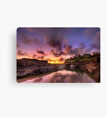 Sunrise Snapper Rock Queensland Canvas Print