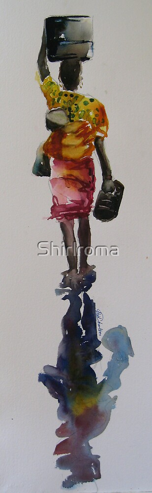 Fetching Water by Shirlroma