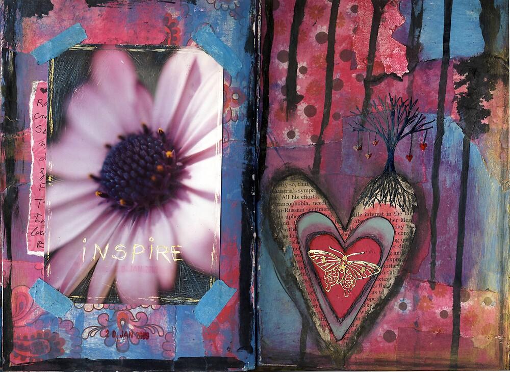 Art Journal - inspire by Clare Reid