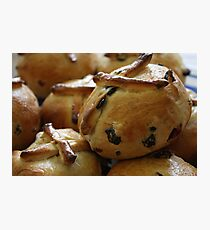 Hot Cross Buns Photographic Print