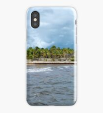 Stormy Day at Costa Maya iPhone Case