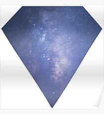 Diamond Milky Way  Poster