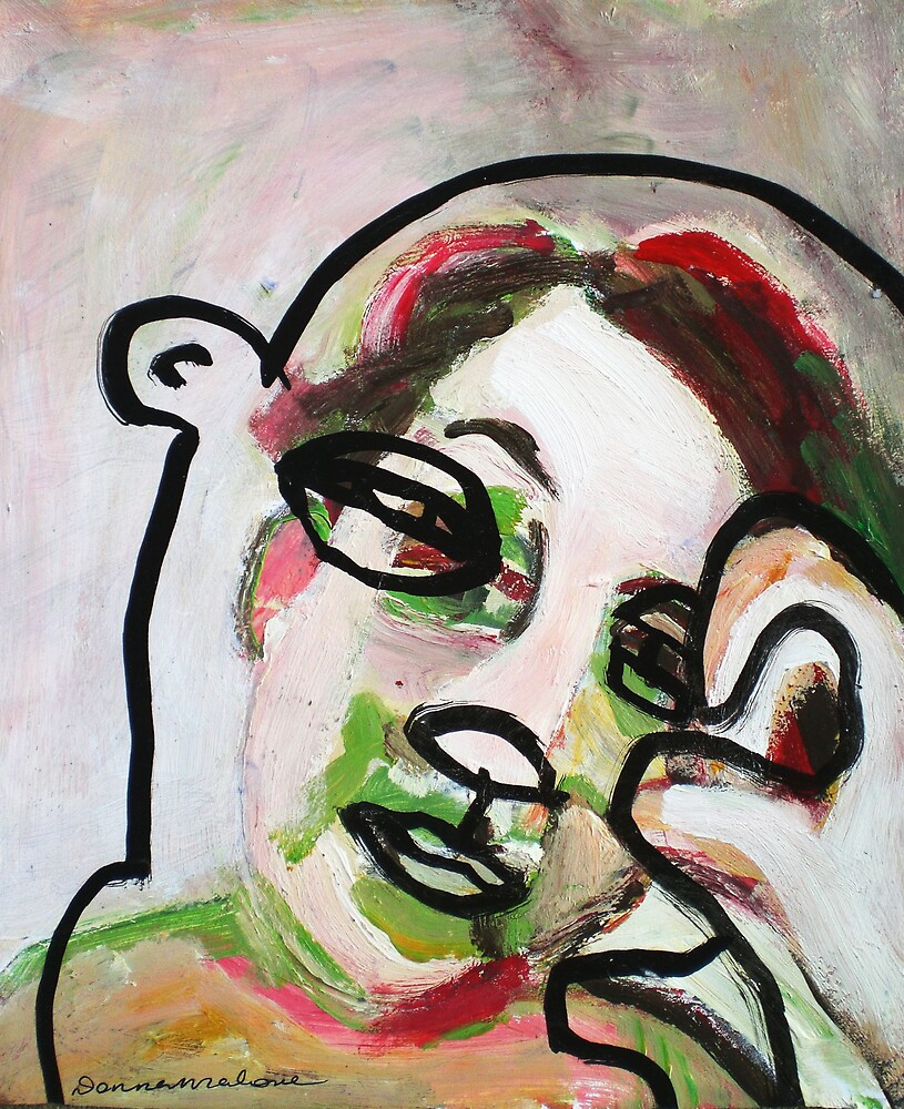 bear mask by donna malone
