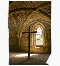 FOUNTAINS ABBEY AND STUDLEY ROYAL Poster