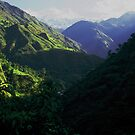 Himalayan landscape by John Nutley