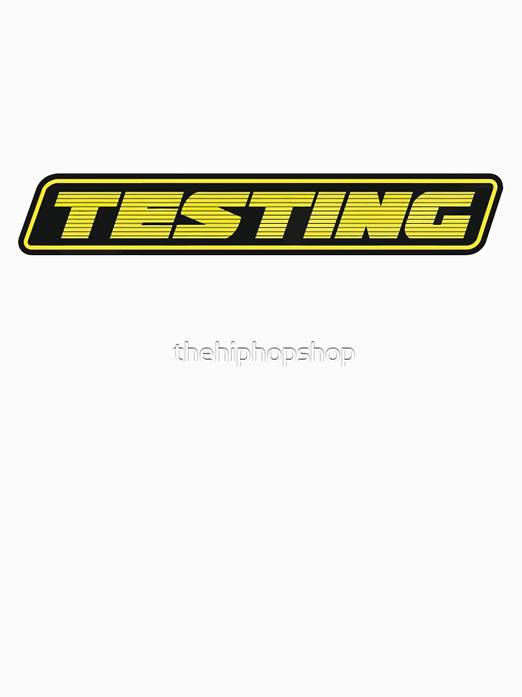 Testing by thehiphopshop