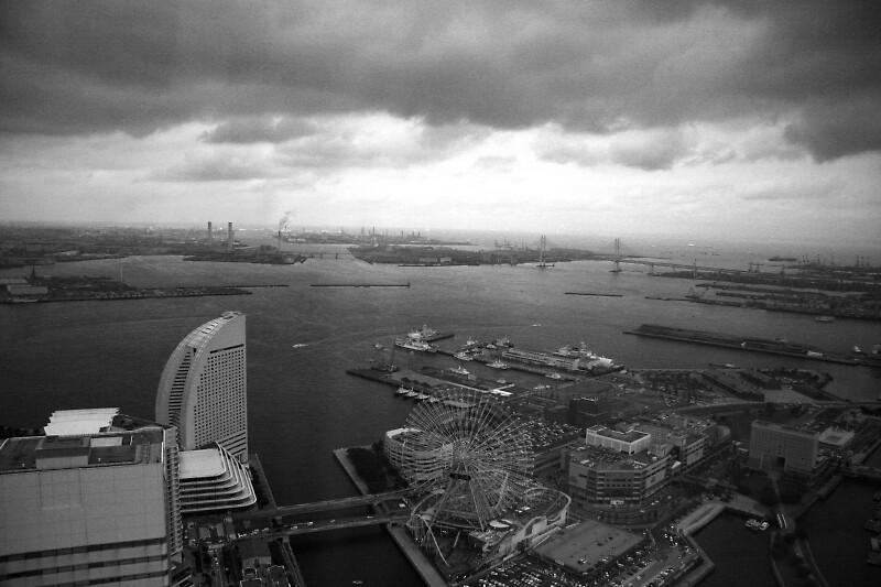 BW Yokohama Harbour by Chris  Jee