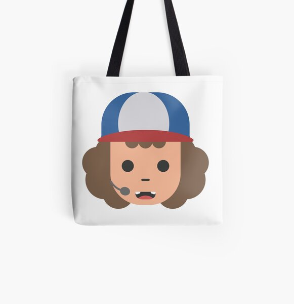 Tote Bag With Zip Mustaches Are Little Wings For Your Nose Colorful