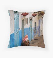 Chefchaouen, Morocco Throw Pillow