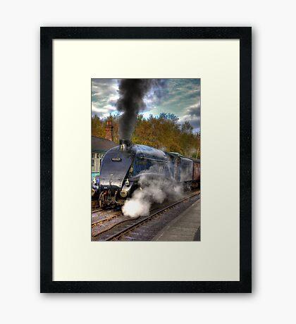 No 60007  Sir Nigel Gresley Framed Print
