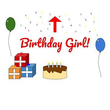 Birthday Girl by evanpolasek