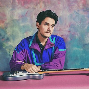 John Mayer 80's style by marccie