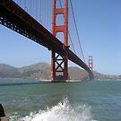 Gated Bridge by Jodi Webb