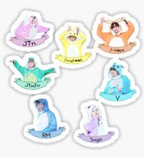 BTS Sticker Set Kigurumi - Check Description  Sticker