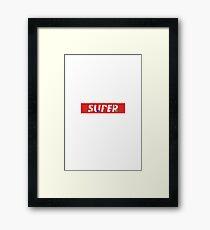Super Sonic Supreme Framed Print