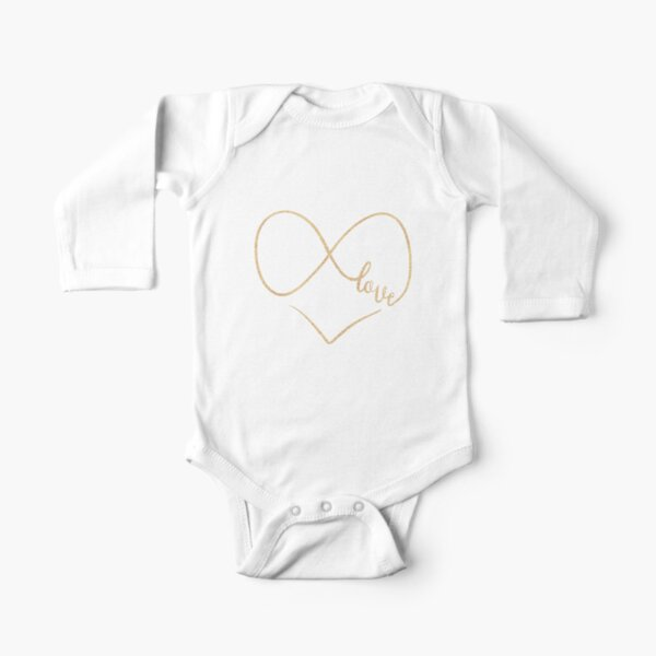 Infinite love by Alice Monber Long Sleeve Baby One-Piece