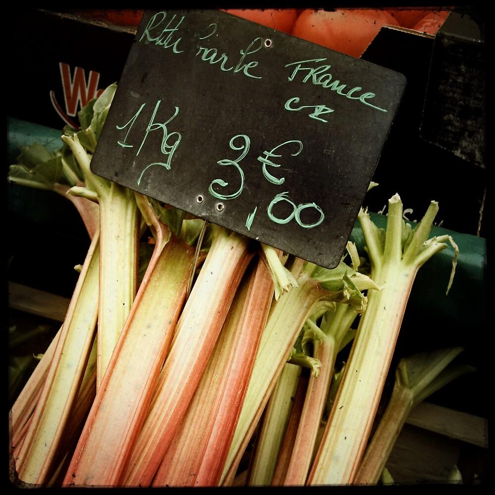La rhubarbe by Marc Loret