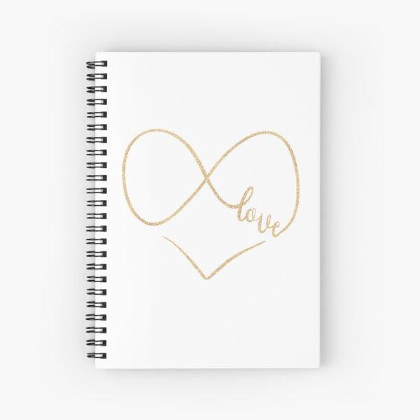 Infinite love by Alice Monber Spiral Notebook