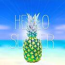 Hello Summer by illustrart