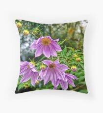 Perfectly Purple Throw Pillow