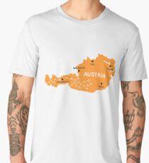 austria map Men's Premium T-Shirt
