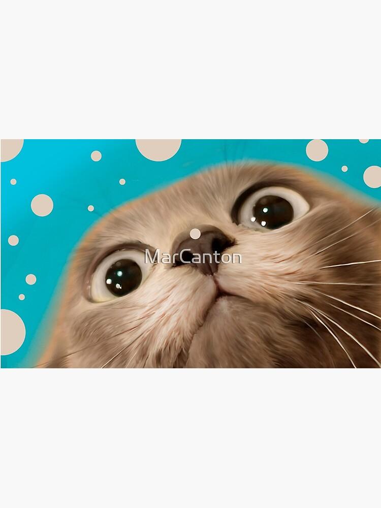 """Fun Kitty and Polka dots"" de MarCanton"