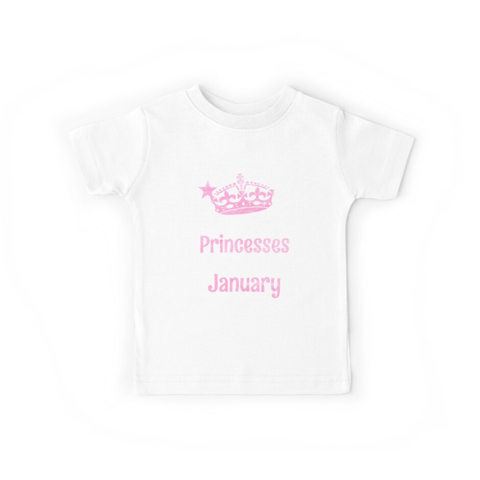 Real Princesses are born in January Funny Gift by niktik95