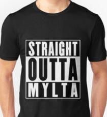 Straight Outta Mylta Unisex T-Shirt