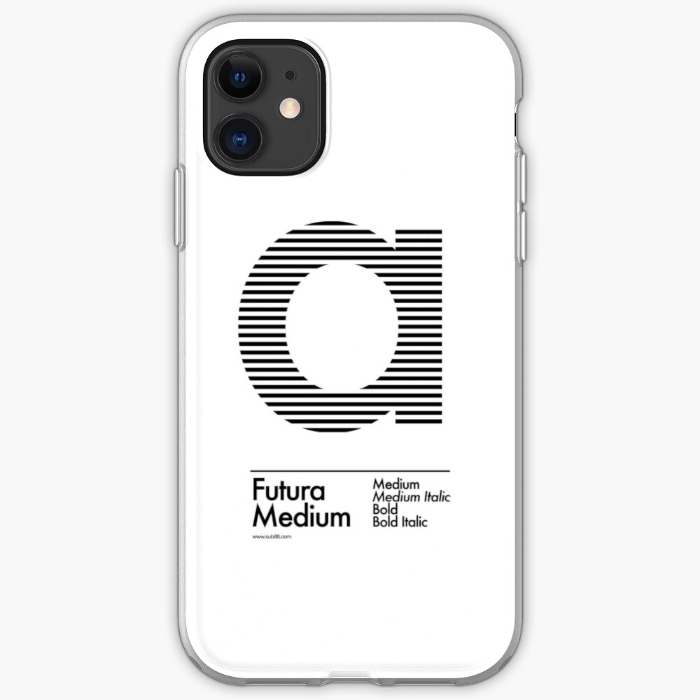 The Letter a Futura Type iPhone Case & Cover