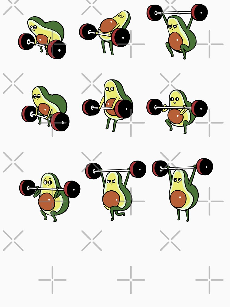 OLYMPISCHE HEBE Avocado von Huebucket