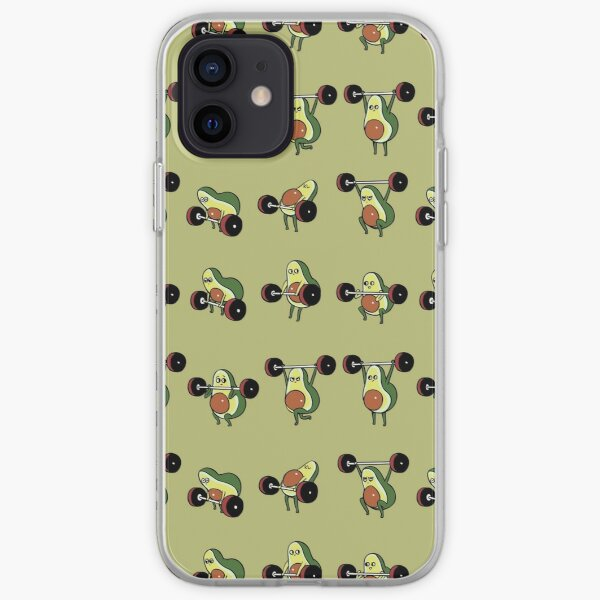 OLYMPIC LIFTING Avocado iPhone Soft Case