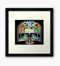 Destination Unknown Collection-Little Push & Shove-May 28, 2015 Framed Print
