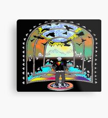 Destination Unknown Collection-Little Push & Shove-May 28, 2015 Metal Print