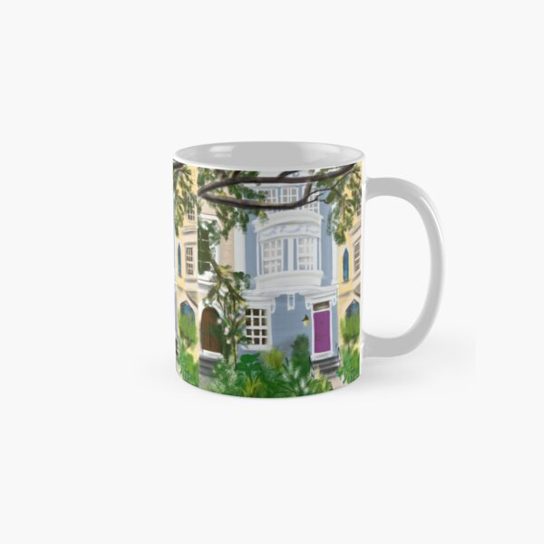 Capitol Hill Rowhouse in Spring  Classic Mug