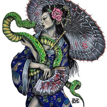 Snake Kimono  by brandoncooper