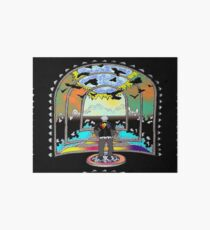 Destination Unknown Collection-Little Push & Shove-May 28, 2015 Art Board Print