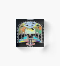 Destination Unknown Collection-Little Push & Shove-May 28, 2015 Acrylic Block