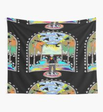 Destination Unknown Collection-Little Push & Shove-May 28, 2015 Wall Tapestry