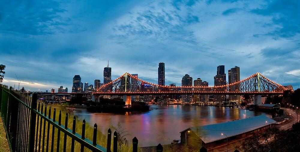 Brisbane At Night by Craig Kasper Photography