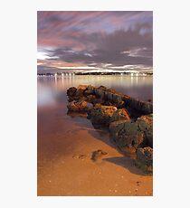 Swan River Rocks  Photographic Print